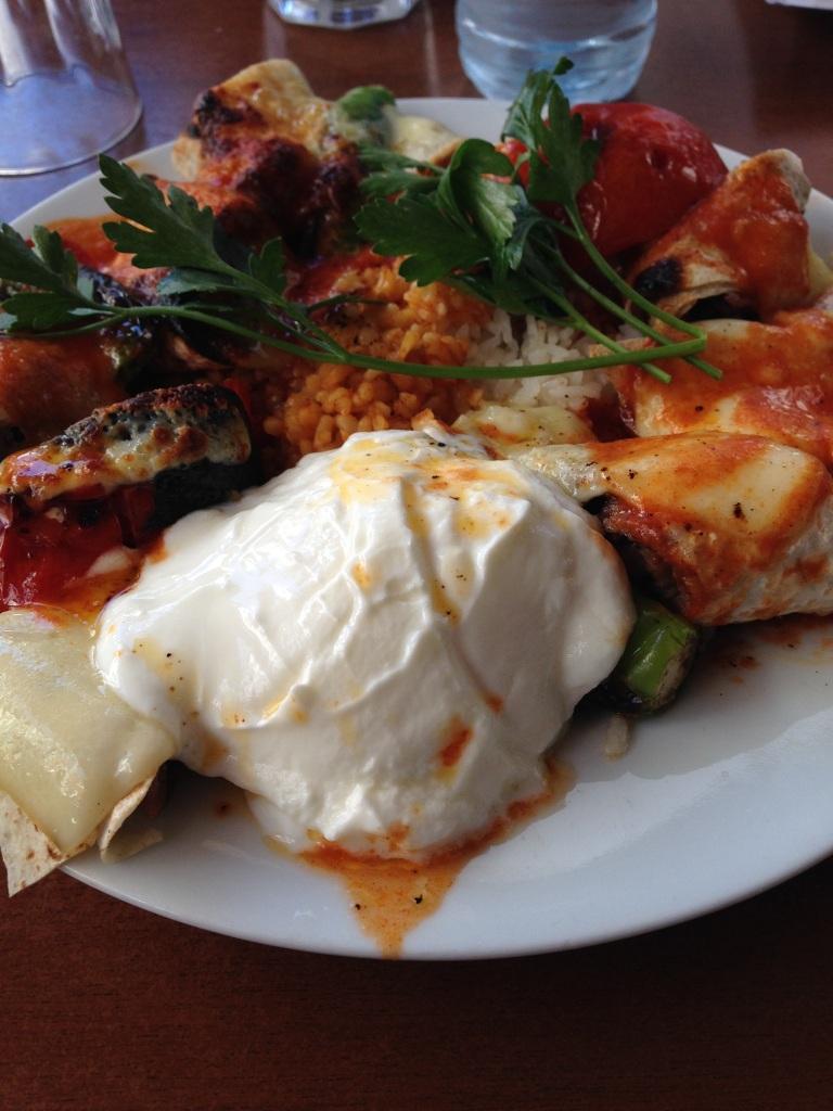 Kebab Wrap, Kasap Osman, Istanbul