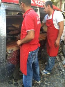 Gala Kokorec Food Truck, Istanbul