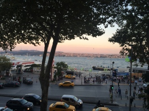 Sunset Over The Bosphorus, Istanbul
