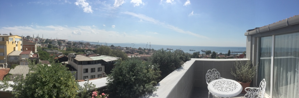 View From Penthouse Suite - Ascot House, Istanbul