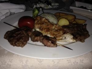 Mixed Kebab, Adamar Hotel, Istanbul