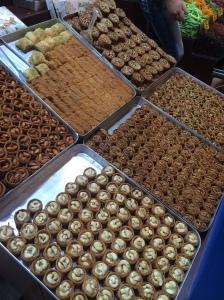 Baklava At The Spice Bazaar / Egyptian Market / Misir Carsisi, Istanbul