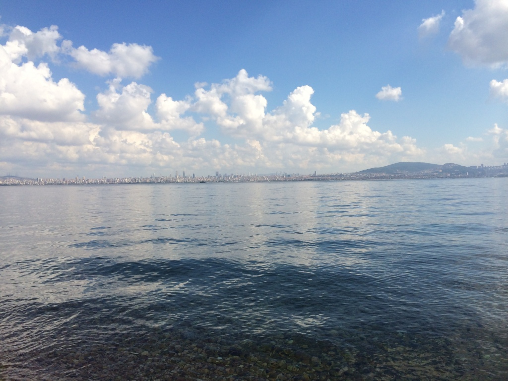 View From The Kinaliada Beach, Istanbul