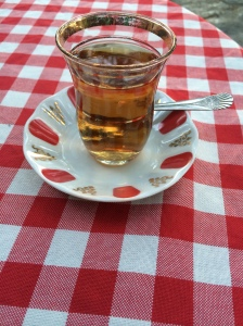 Apple Tea At Pierre Loti Cafe, Istanbul