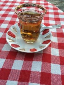 Apple Tea At Pierre Loti Cafe, Istanbul