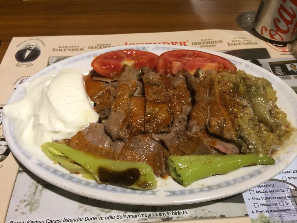 Iskender Kebab At Kebabci Iskender, Kadikoy, Istanbul