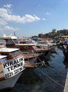 Boats At Buyukada Island, Istanbul