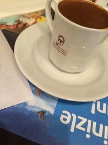 Turkish Coffee, Simit Sarayi, Taksim, Istanbul