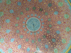 Ceilings In Topkapi Palace, Istanbul