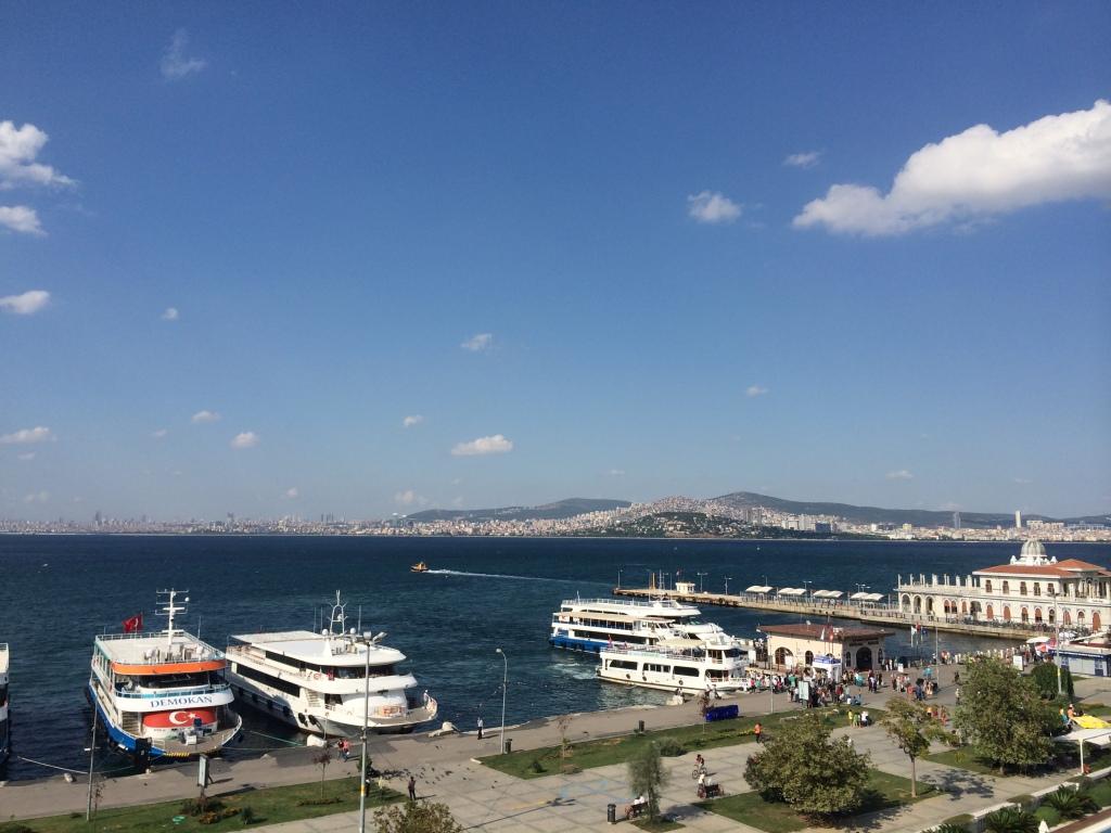 View From Orasi Burasi, Buyukada Island, Istanbul