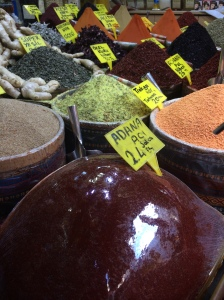 Spices At The Spice Bazaar / Egyptian Market / Misir Carsisi, Istanbul