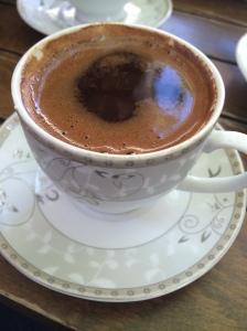 Turkish Coffee At Afilli Cezve, Balat, Istanbul