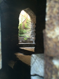 Secret Spiralling Stairs, Rumeli Hisari, Istanbul