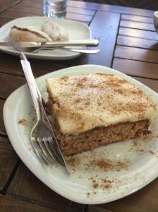 Fig And Walnut Cake At Afilli Cezve, Balat, Istanbul