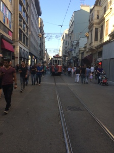 Tram On Istiklal Avenue, Istanbul