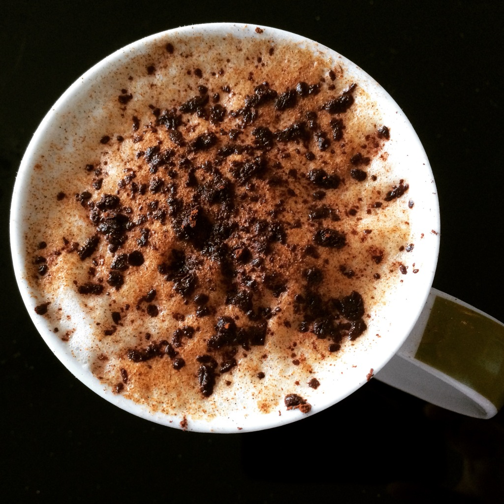 Homemade Hazelnut Latte