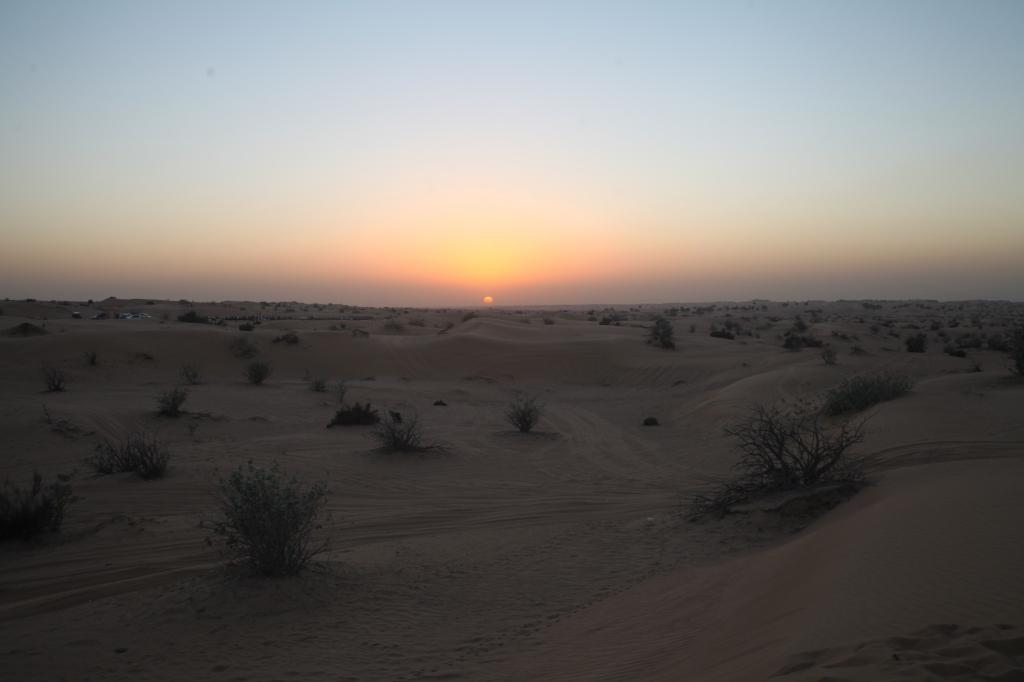 Sunset In The Desert, Dubai, UAE