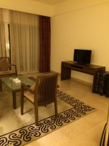 Ramada Beach Hotel, Ajman - Living Room