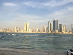 Skyline, Al Khan, Sharjah, UAE