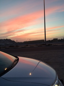 Sunset In Al Khan, Sharjah, UAE