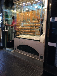Window Displays In The Gold Souk, Souk Dahab, Deira, Dubai, UAE