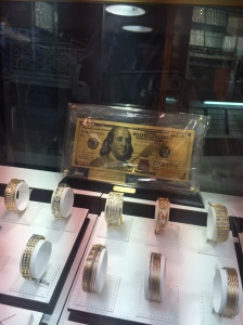 Gold Note in the Gold Souk, Souk Dahab, Deira, Dubai, UAE