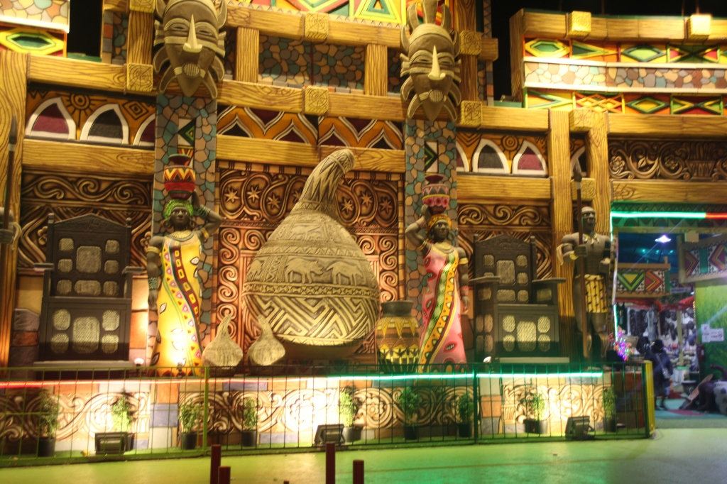 African Pavilion, Global Village, Dubai, UAE