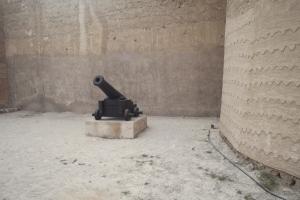 Cannon, Dubai Museum, Dubai, UAE