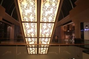Escalators, Mall of the Emirates, Dubai, UAE