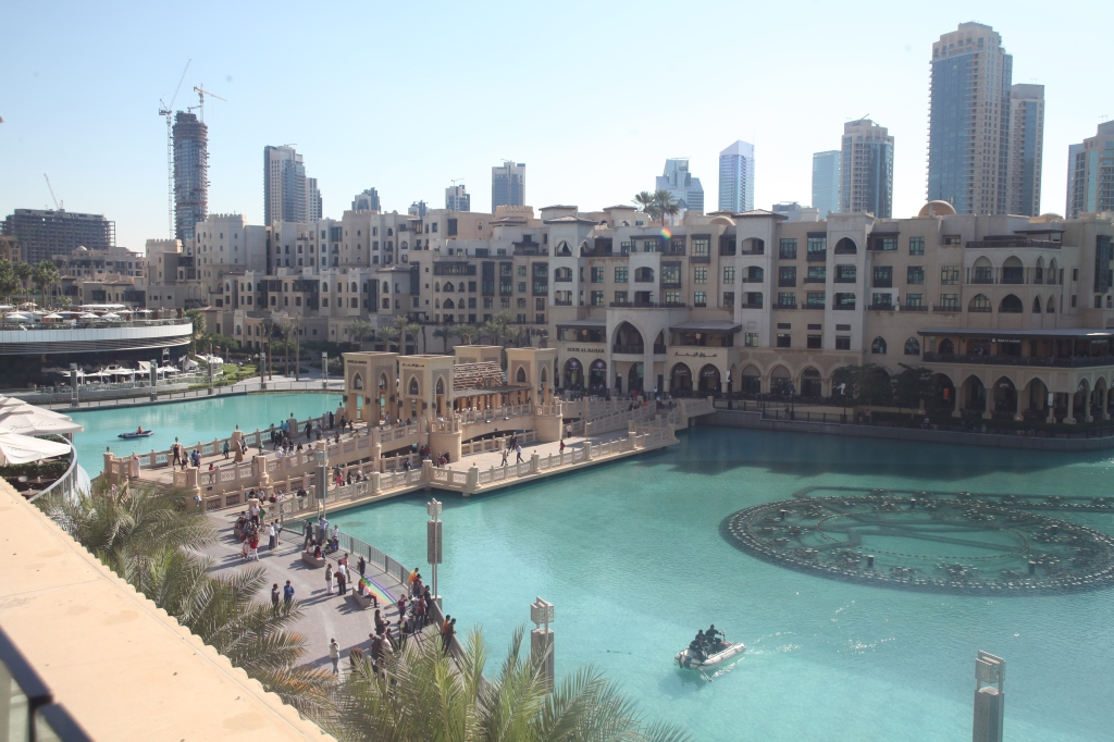View From Joe's Cafe, Dubai Mall, Dubai, UAE