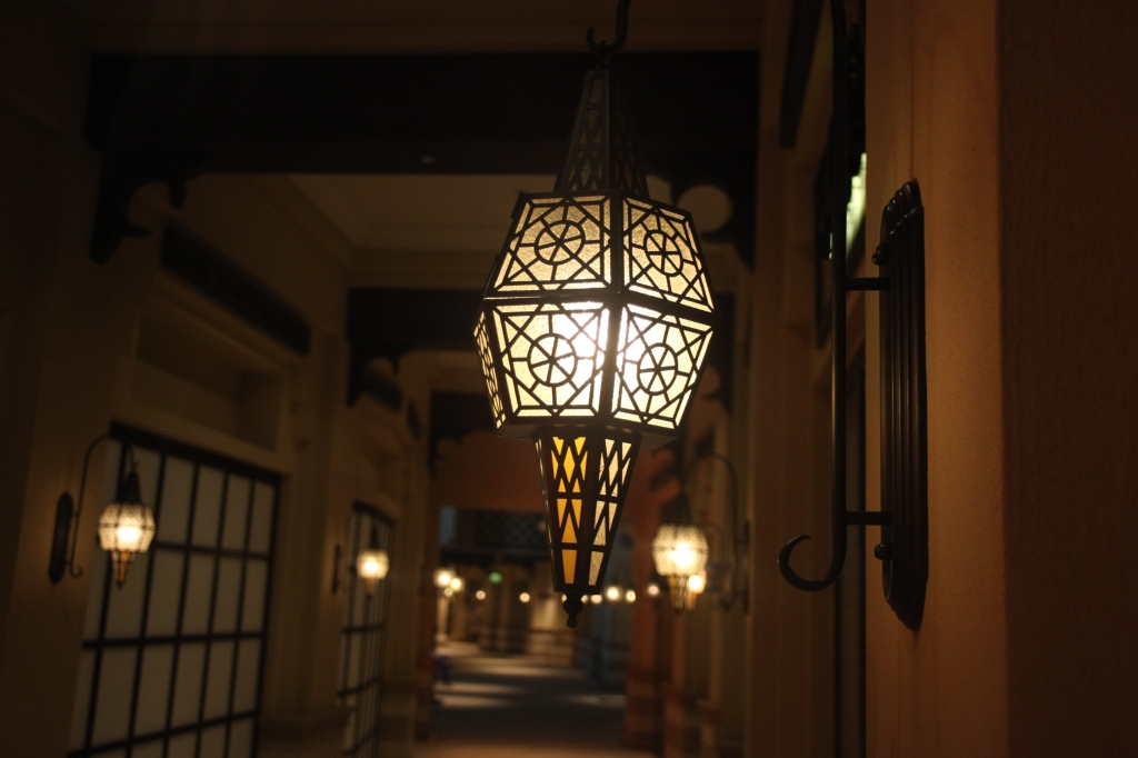 Lights, Souk Al Bahar, Dubai, UAE