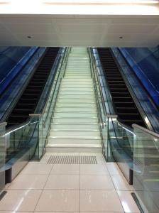 Stairs, Metro, Dubai, UAE