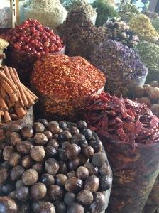 Herbs and spices, Spice Souk, Deira, Dubai, UAE