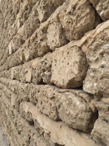 Stone Walls, Dubai Museum, Dubai, UAE