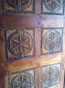 Wooden Door, Dubai Museum, Dubai, UAE