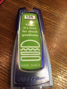 Yalla! Buzzer, Shake Shack, Mall of the Emirates, Dubai, UAE