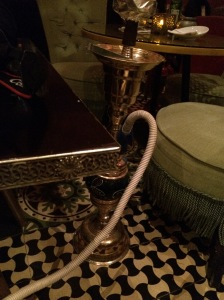 Lemon & Mint Shisha, Almaz By Momo, Harvey Nichols, Mall of the Emirates, Dubai, UAE