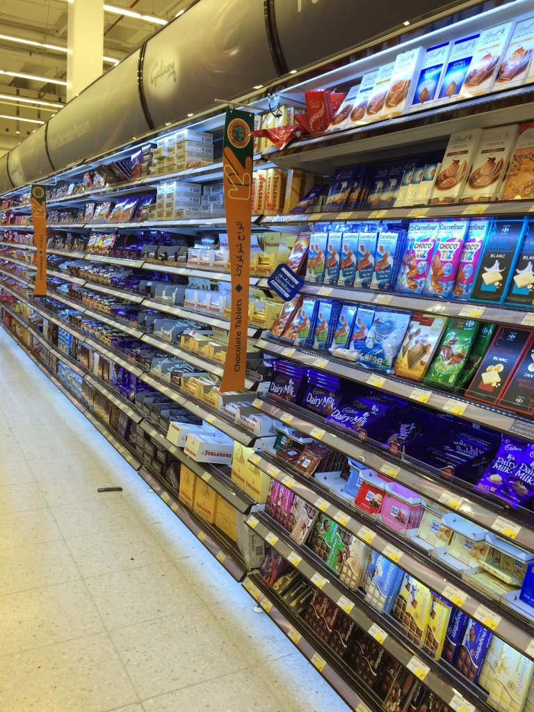 Chocolate Aisle, Carrefour, Deira City Centre Mall, Dubai, UAE