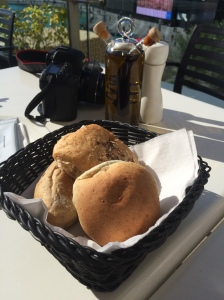 Complimentary Bread, Joe's Cafe, Dubai Mall, Dubai, UAE