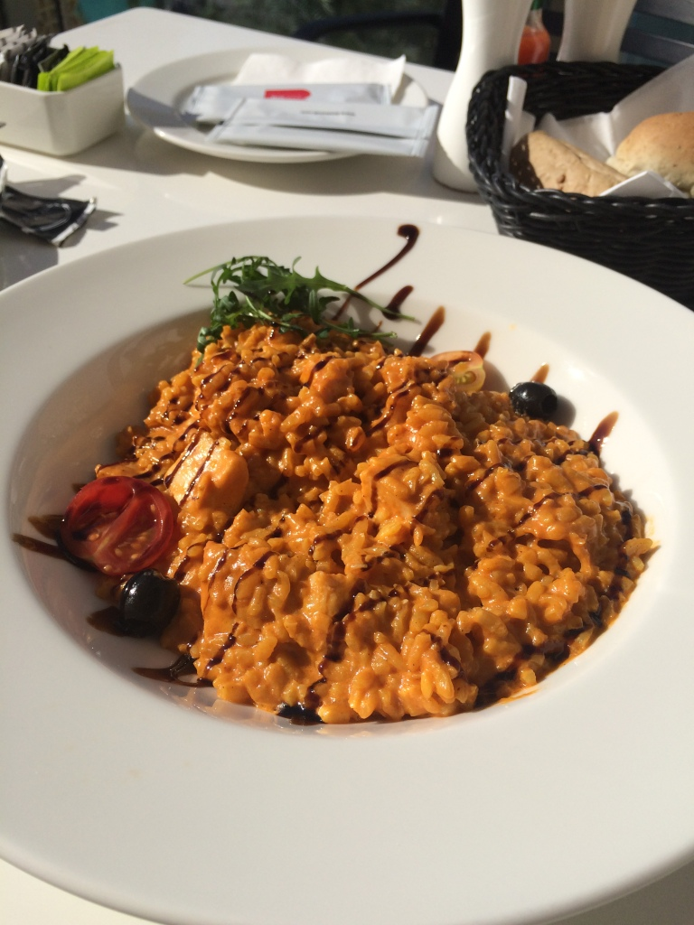 Special Chicken Risotto, Joe's Cafe, Dubai Mall, Dubai, UAE