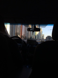 Cab Ride, Dubai, UAE