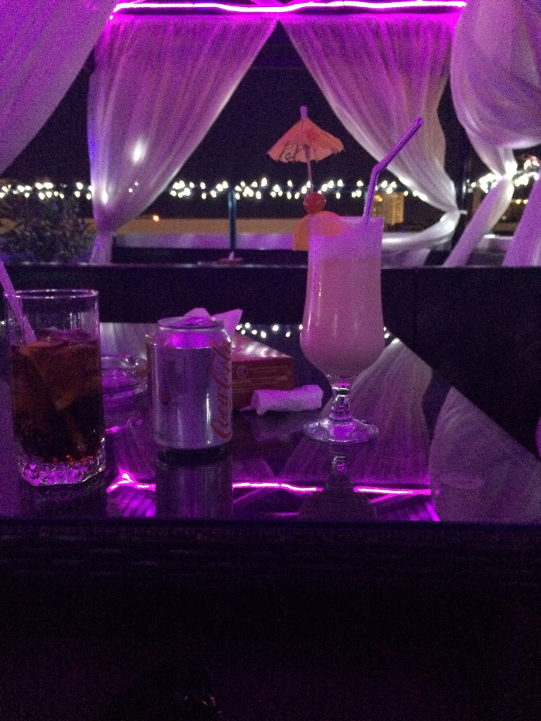 Drinks, Regent Palace Hotel, Dubai, UAE