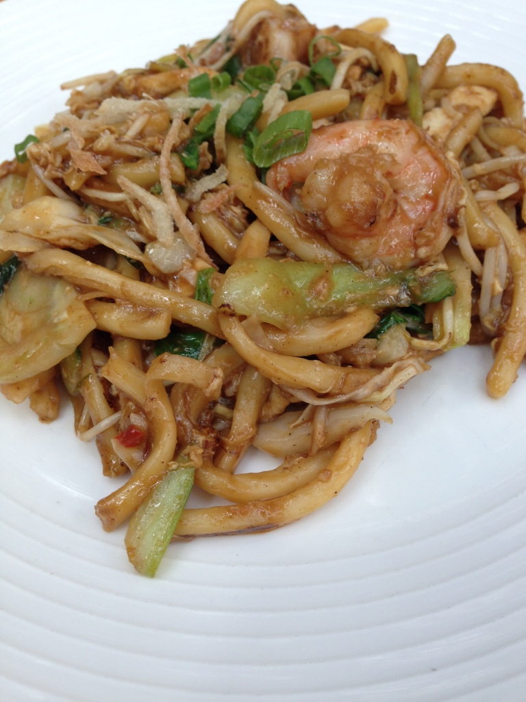 Bakmi Goreng, The Noodle House, BurJuman Mall, Dubai, UAE