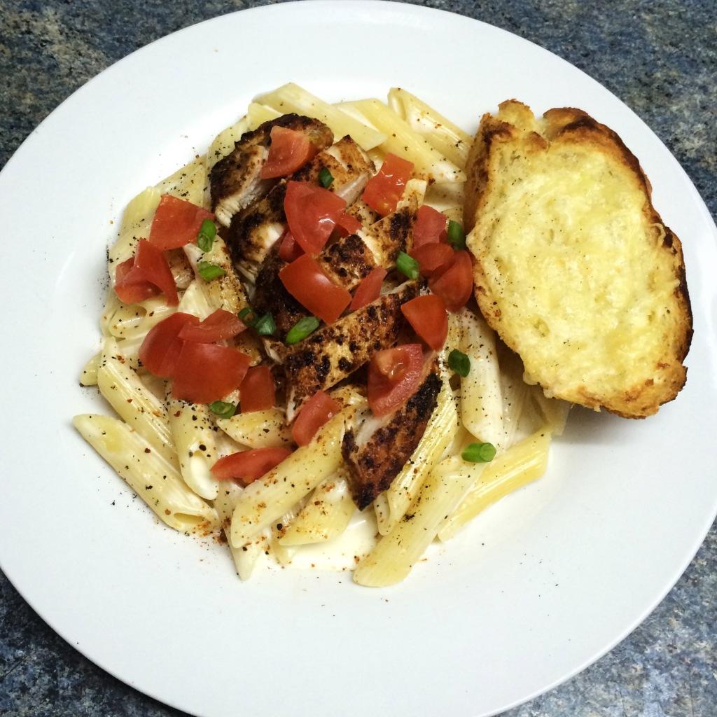 Cajun Chicken With Pasta - Chili's Style