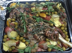 Greek Slow Roast Lamb Shoulder