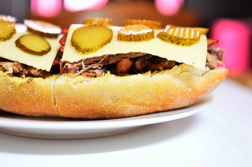 Cuban Lamb Sandwich (Lamb Cubanos)