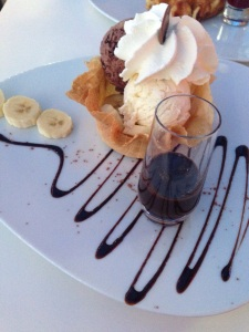 Banana Split, Movenpick, Geneva, Switzerland
