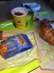 Breakfast, Hubiz, Gare Versoix, Geneva, Switzerland