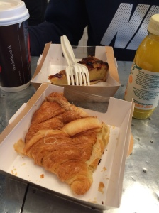 Cheese Croissant, Jamie's Bakery, Gatwick Airport