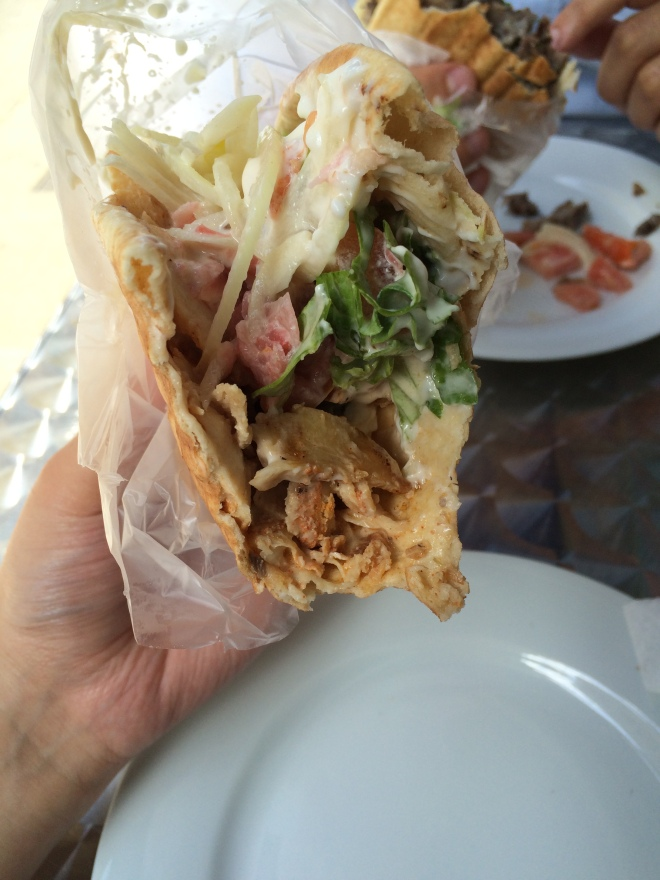 Chicken Shawarma, Parfums De Beyrouth, Geneva, Switzerland